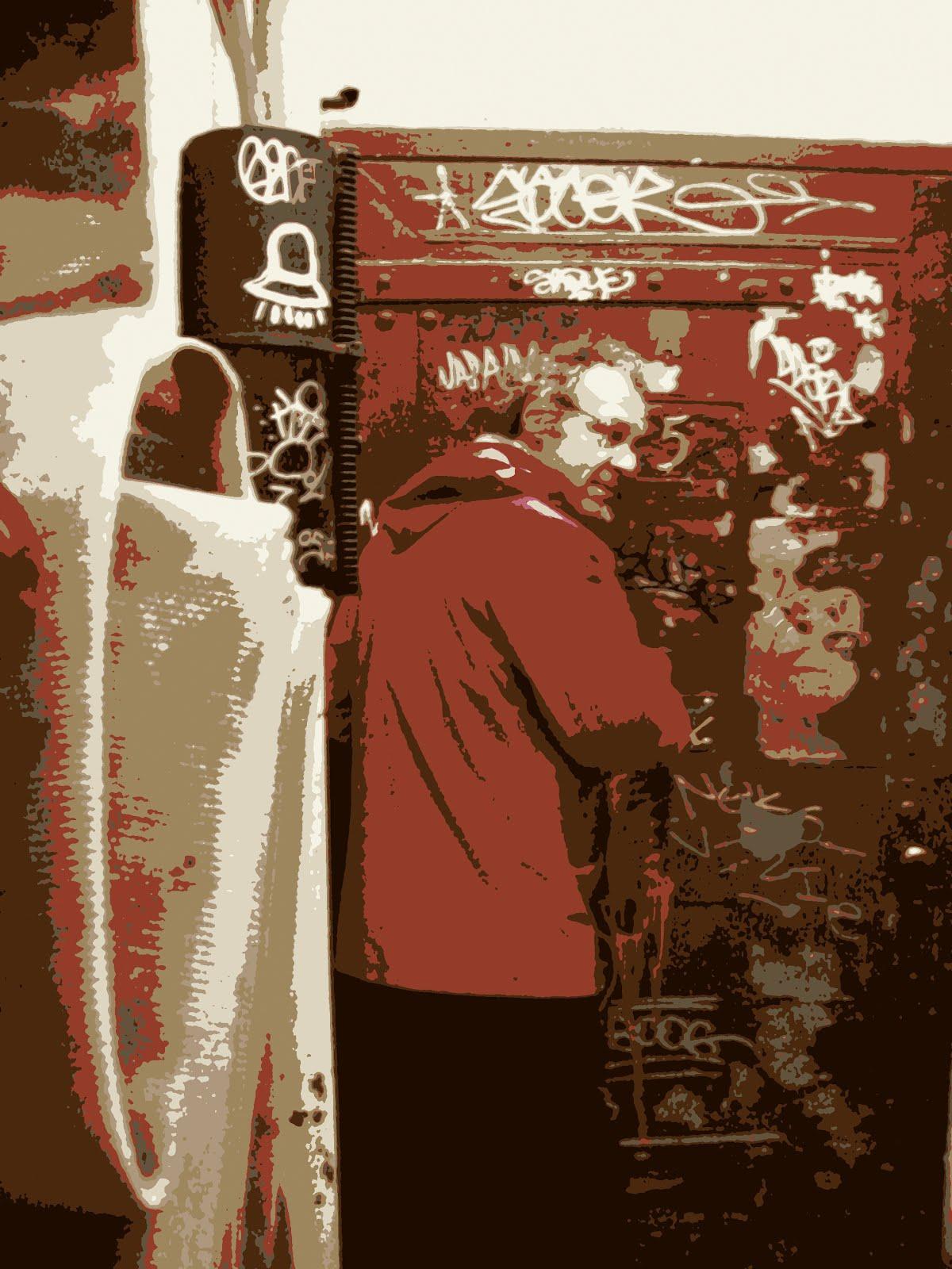 Studio in NYC; The Door!