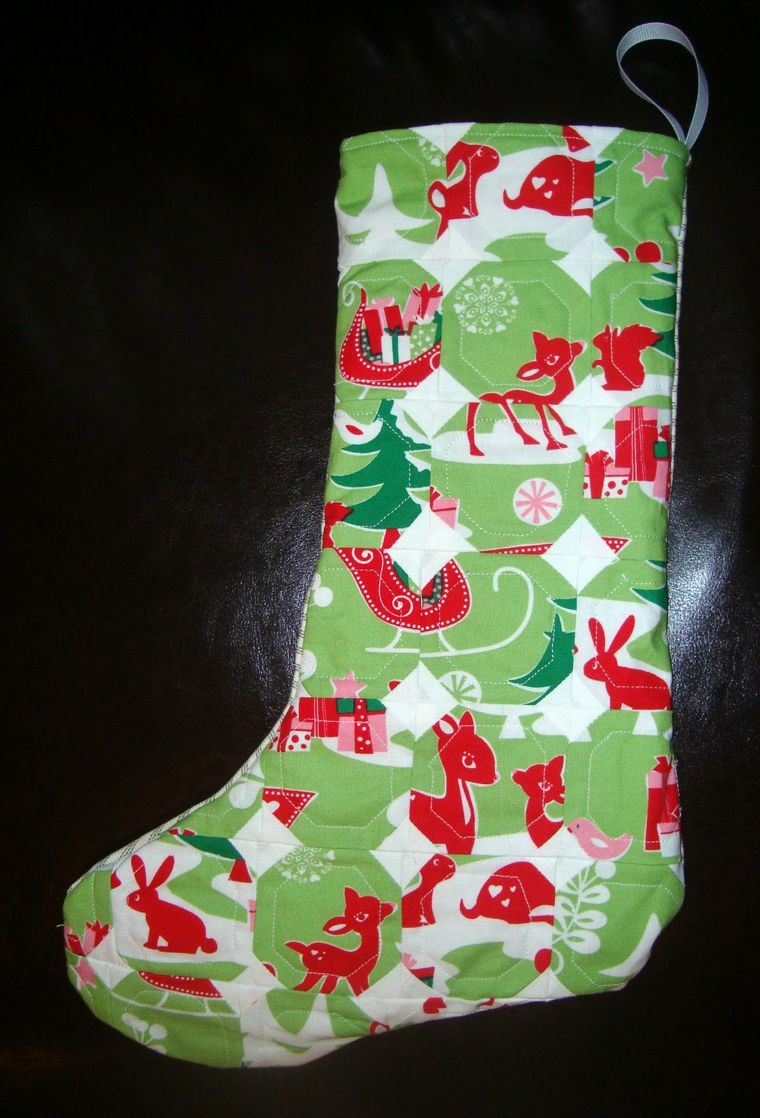 Little Girl Christmas Stocking