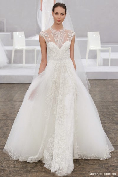 Monique Lhuillier Wedding Dress Is A Loyal Supporter Of Colors Dozens Colorful There Always One Can Win Your Heart