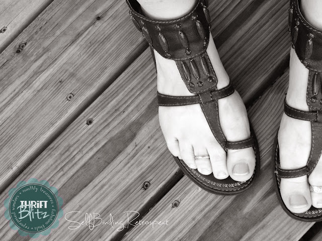 gladiator sandals american eagle - Thrift Blitz Episode Four - SelfBinding Retrospect by Alanna Rusnak