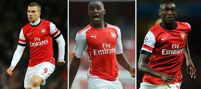 Arsenal boss Arsene Wenger confirms trio return