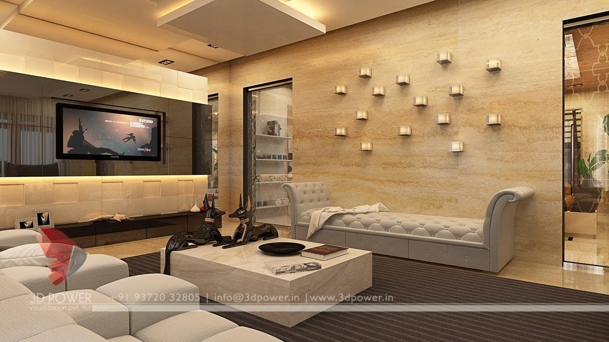 3d interior designs interior designer for Interior design receiving room