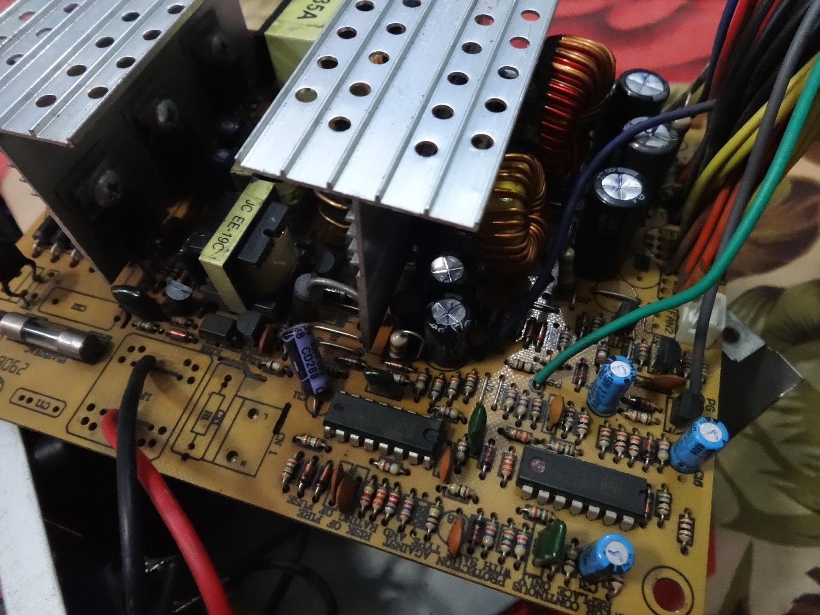 PSU (Power Supply Unit) Circuit Board Diagram and Repair Guide ...