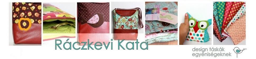 Ráczkevi Kata; design táskák egyéniségeknek