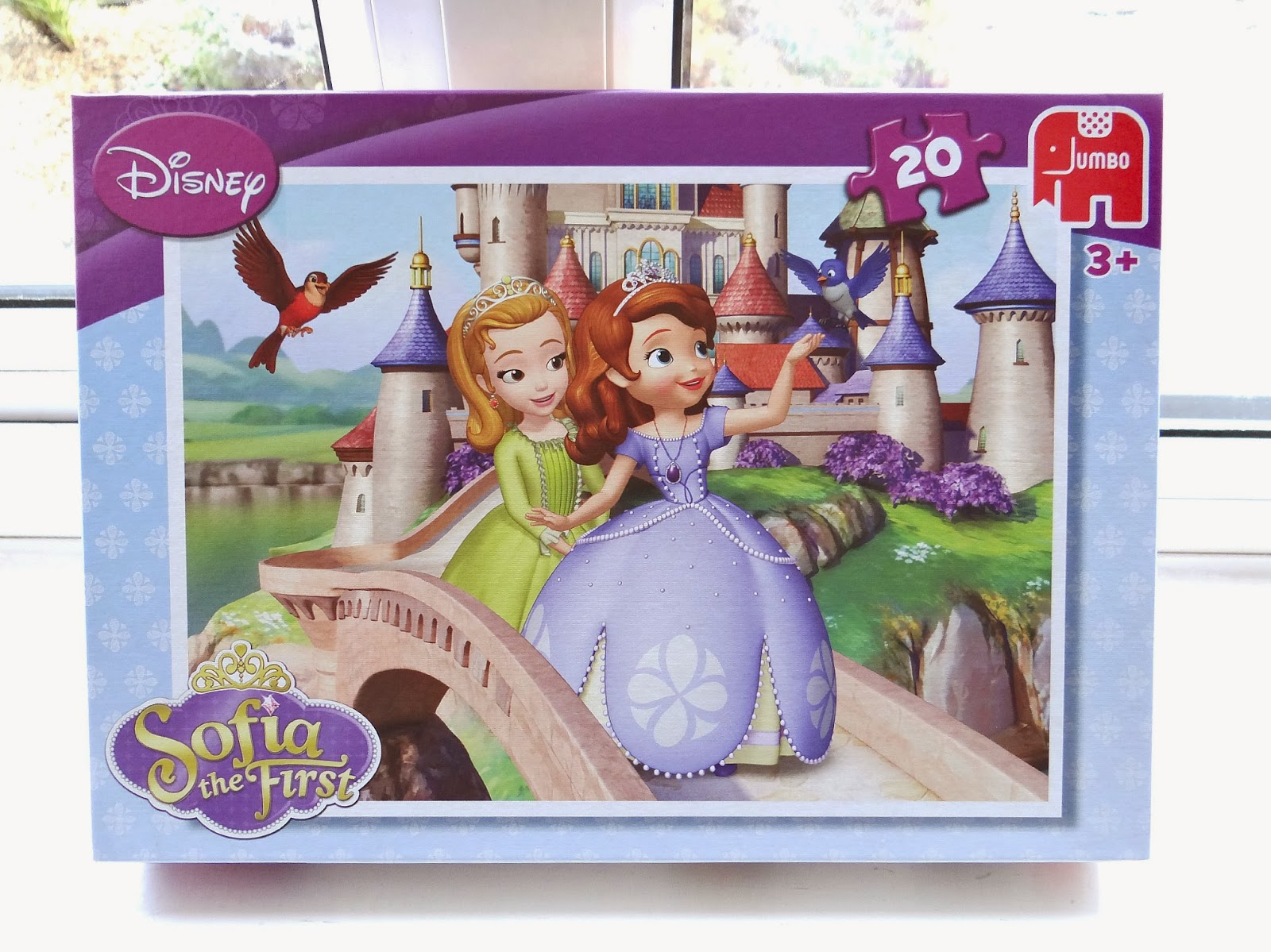 Disney Sofia the First, Jumbo children puzzles, preschool Disney puzzles