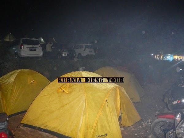 tips camping di dieng