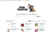 Buscador de íconos Icon Wanted íconos para facebook