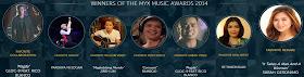 Sarah G and Gloc 9 win big at MYX Music Awards 2014