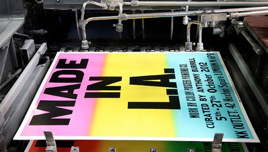 Offset Poster Printing