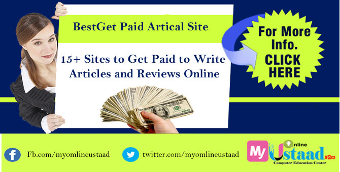 start writing article