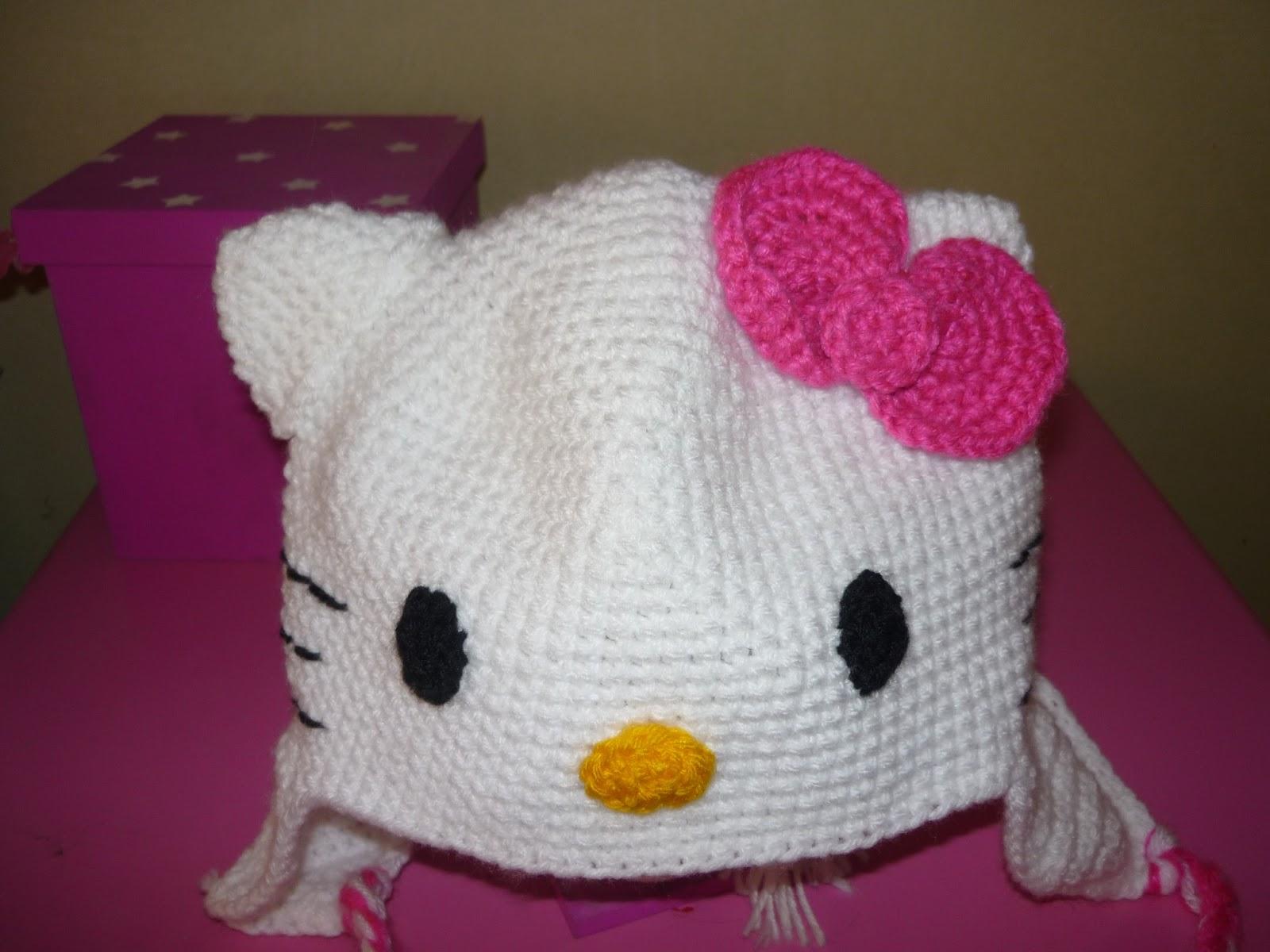 Tejiendo Sueños: Gorro Kitty crochet
