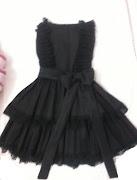 Vestido preto curto (foto )