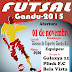 I COPA DE FUTSAL SUB-20 2015 DE GANDU,BAHIA.