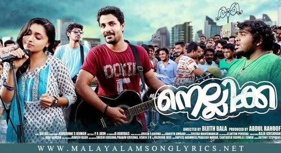 Ravin Nizhaloram Lyrics - Nellikka Malayalam Movie Songs
