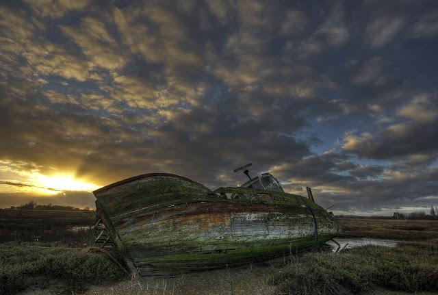 Photo hdr bateau, localisation épave bateau gironde, photo épave bateau, photo fabien monteil