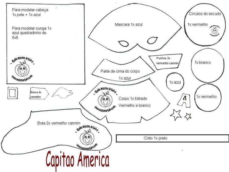 Fofucho capitan america de la web Capitaoamericaw