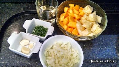 Ingredientes Receita Picanha de Porco