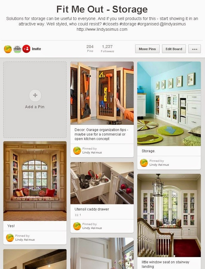example storage design pins on Pinterest for business to showcase