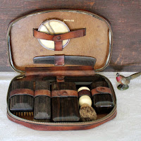 gift for husband vintage shaving kit