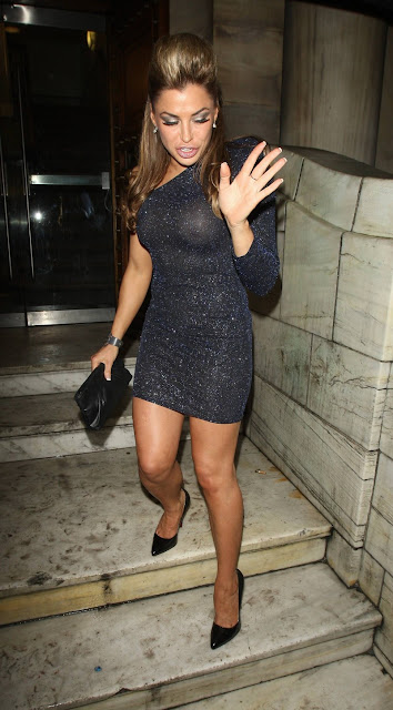 LOUISE GLOVER AT LONDON CLUB
