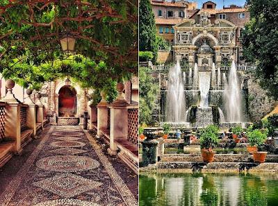 Ville palazzi signorili e dimore storiche i giardini pi - Foto giardini ville ...