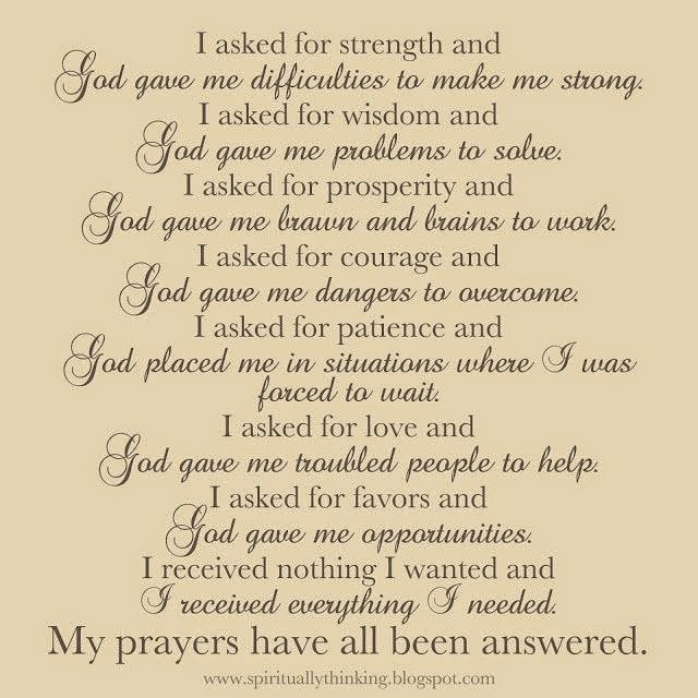 TRUSTWORTHY SAYINGS: Prayer for Strength of Faith During Difficult Times