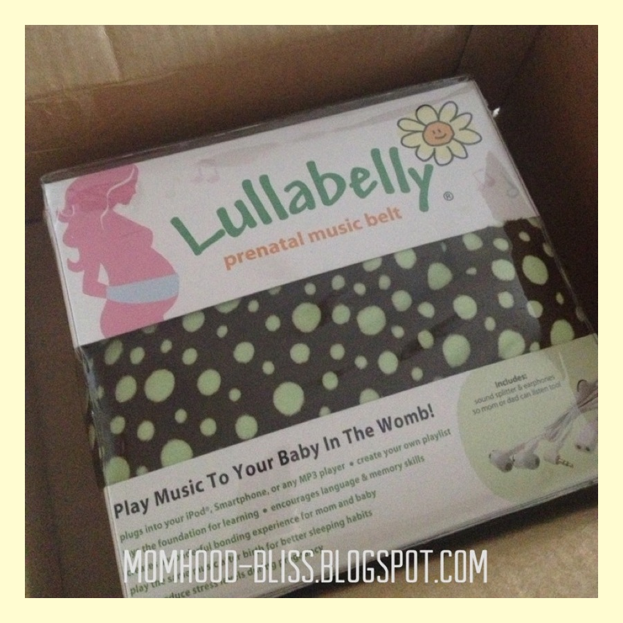 momhood bliss our baby's first gadget lullabelly prenatal  - because i love music and i want to bond with our baby i decided to get aprenatal musical belt called lullabelly we ordered it online viaamazoncom and