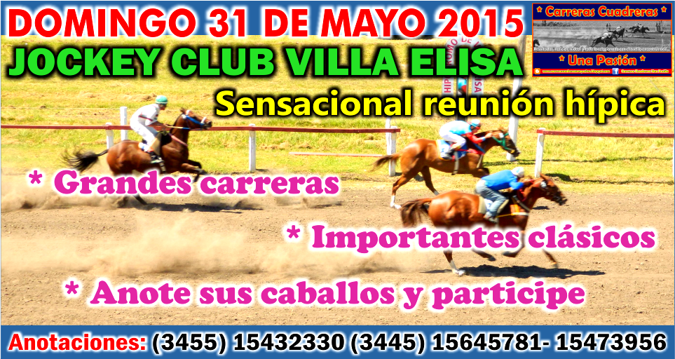 VILLA ELISA - 31.05.2015
