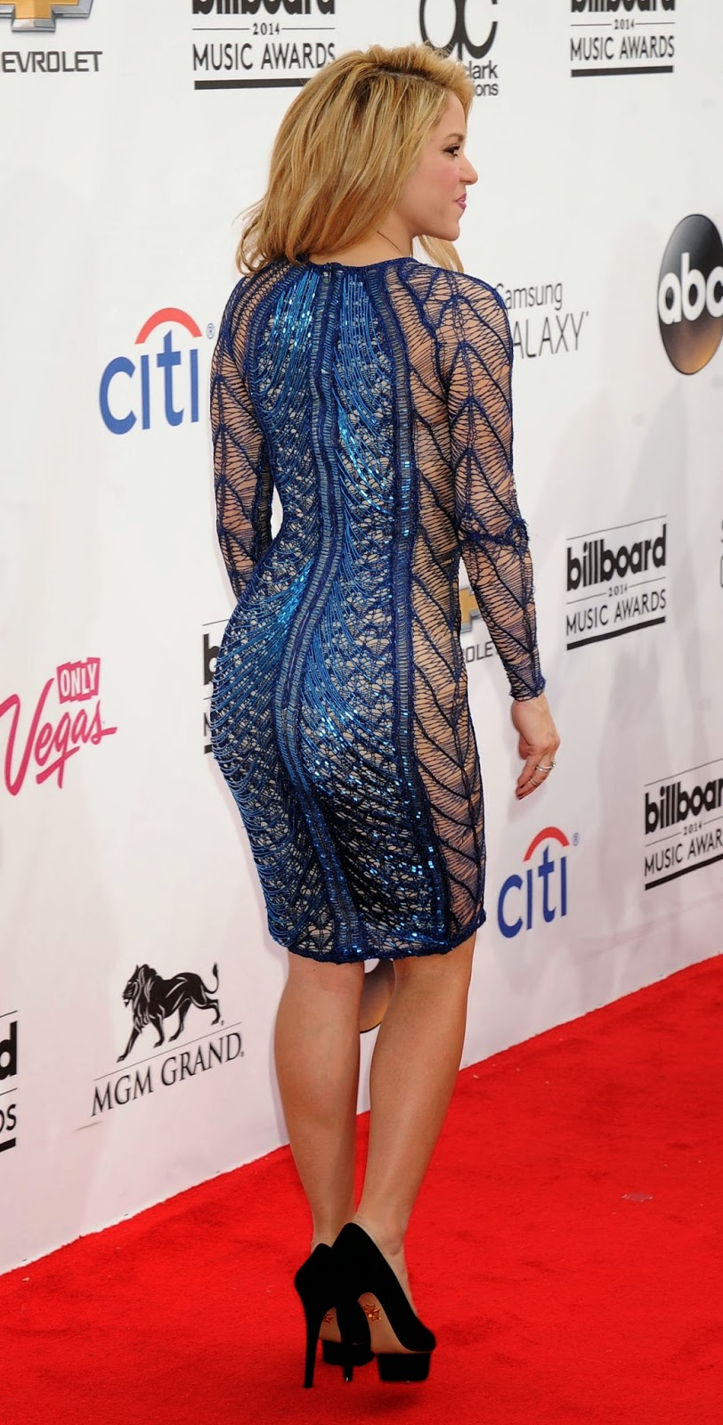 Shakira New Photos Events at Billboard Music Awards 2014 ...