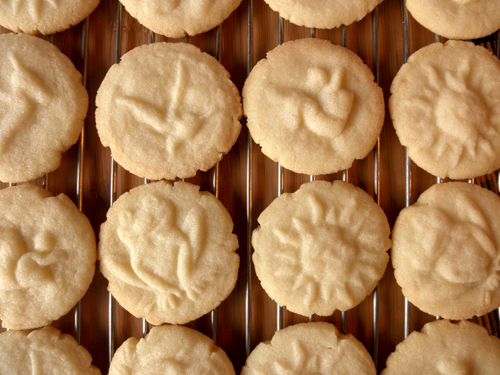 Food Pusher: Almond Butter Cookies