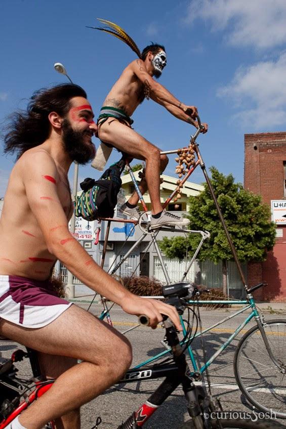 bike ride librarian Naked