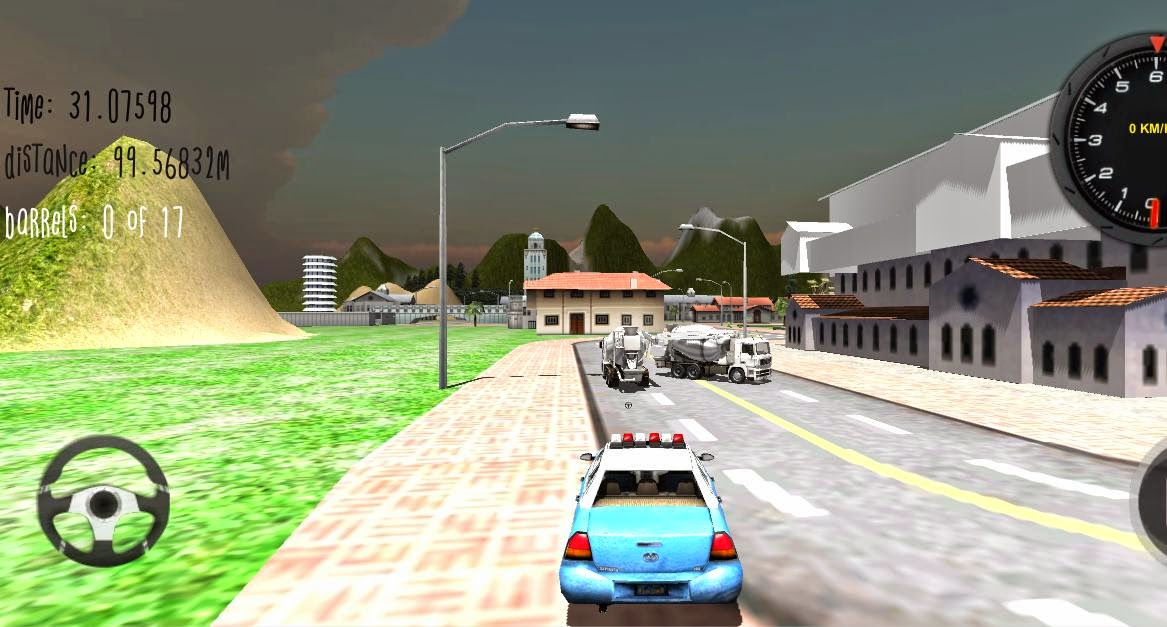 Police Car Driver 3D Android Apk Oyun resimi 5
