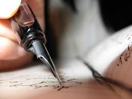 Quisiera ser de la época de las cartas marcar con tinta el calor de cada palabra