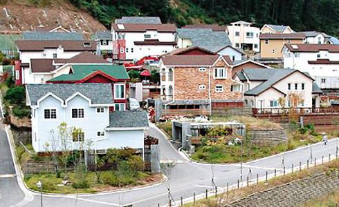 Korea House Types : Dan Dok Ju Taek (Individual House) ~ SHORT RENT HOUSE
