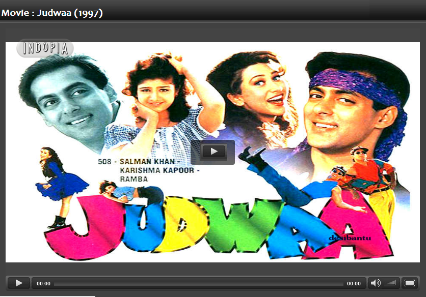 judwaa movie video song