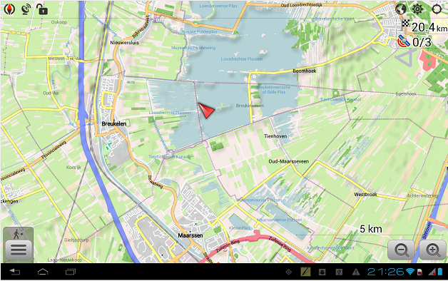 تطبيق OsmAnd Maps and Navigation