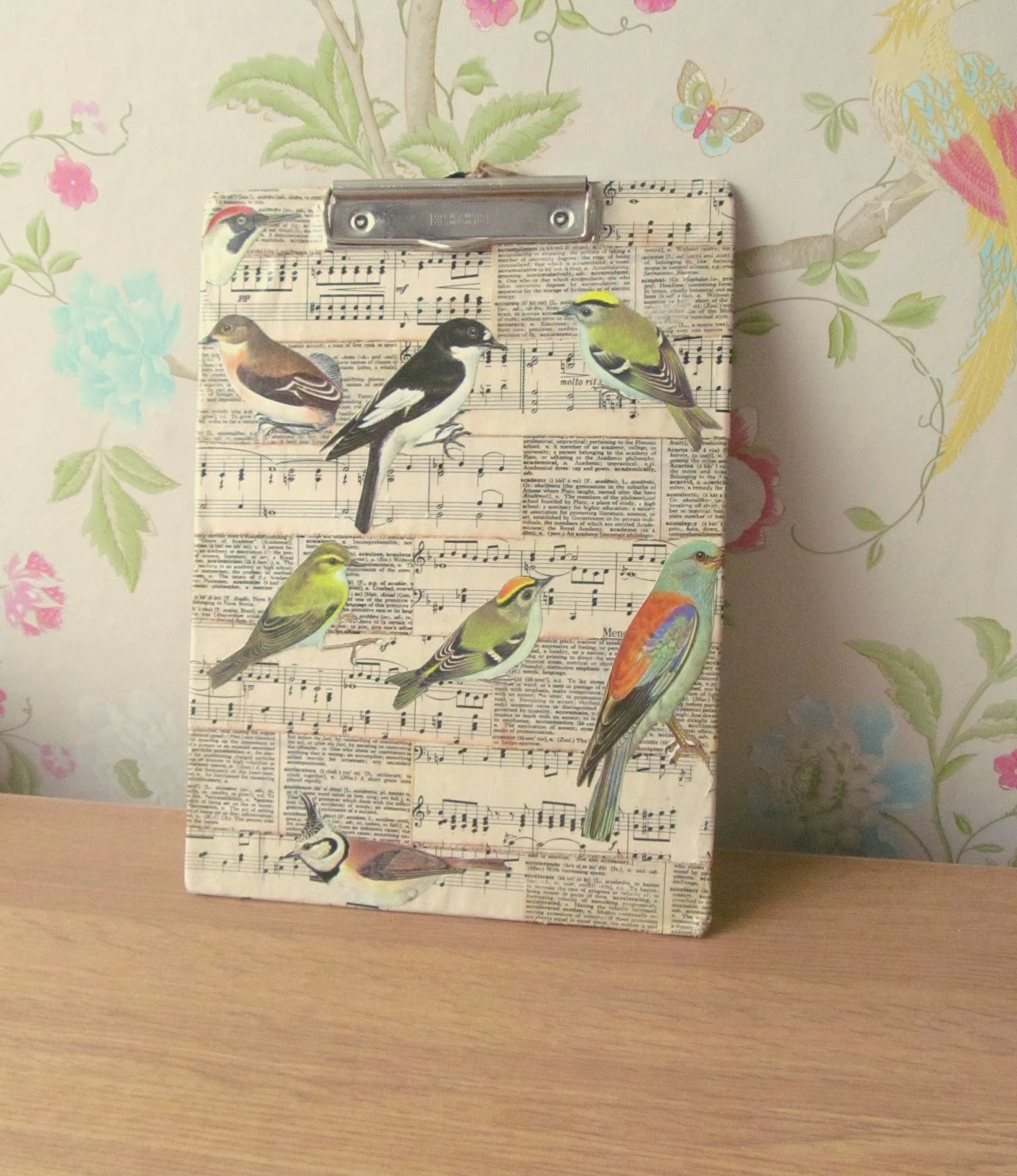 ideas for decoupage - clipboard
