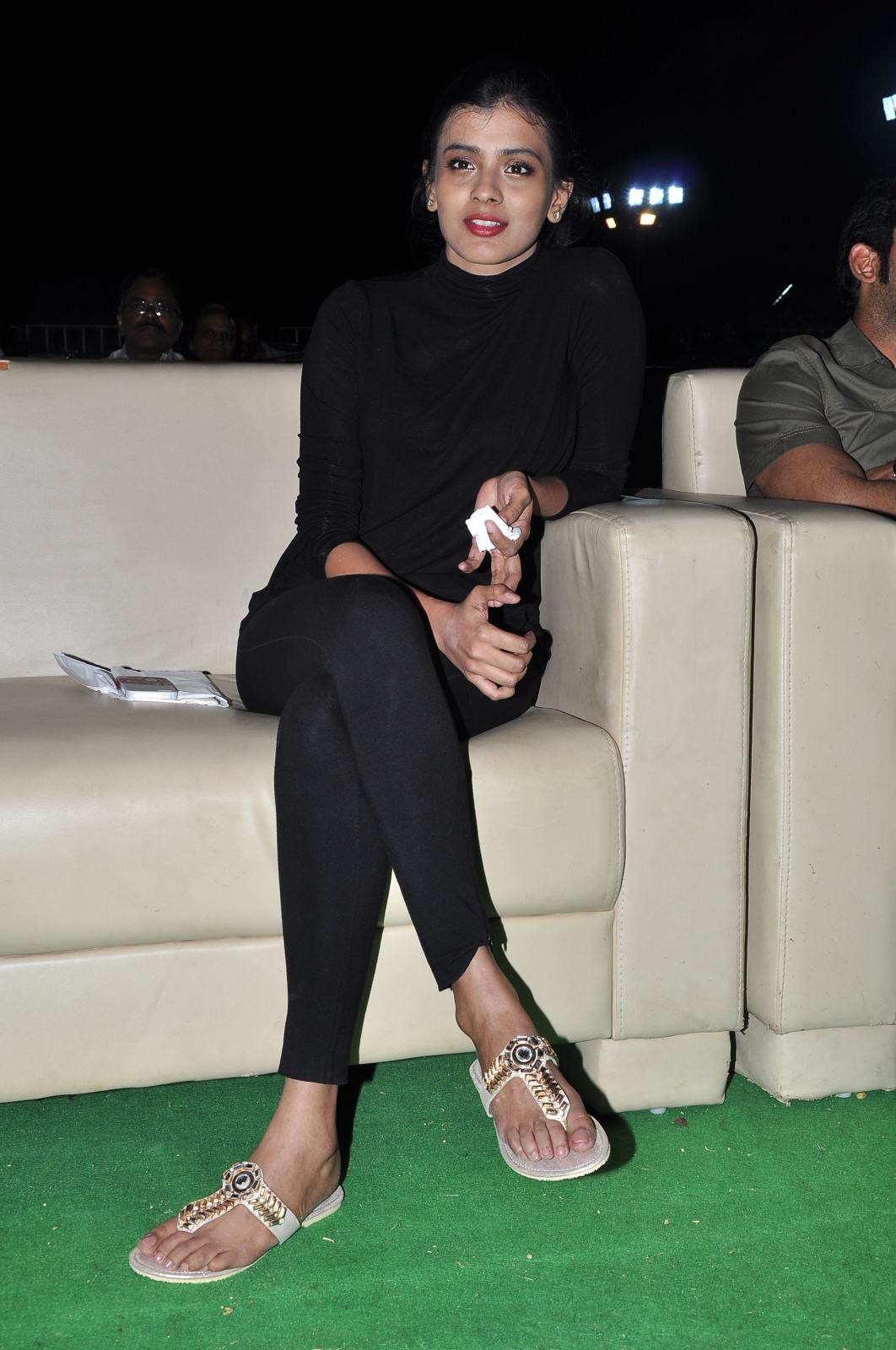 Hebah Patel at Kumari 21f platinum disk event-HQ-Photo-11