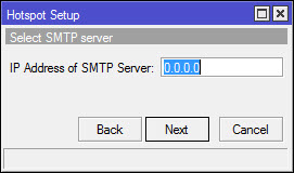 IP Address untuk SMTP Server