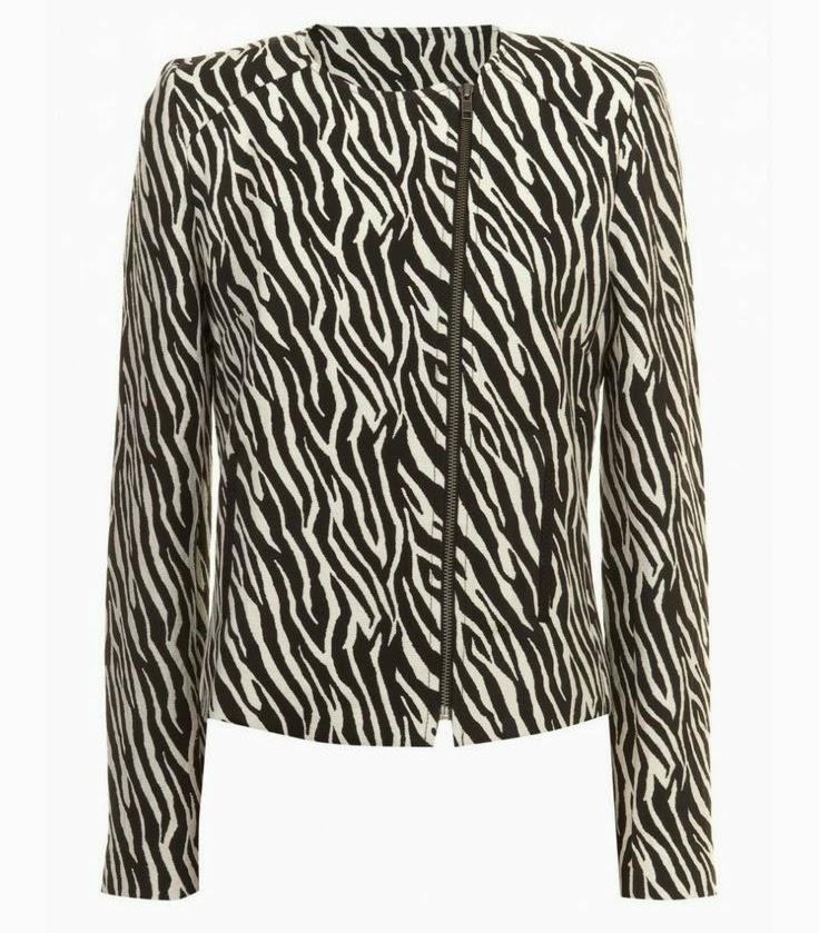 Naf Naf Zebra Jacket