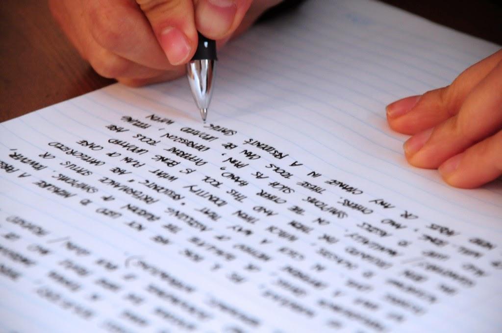 escritura a mano rasgos personalidad grafología