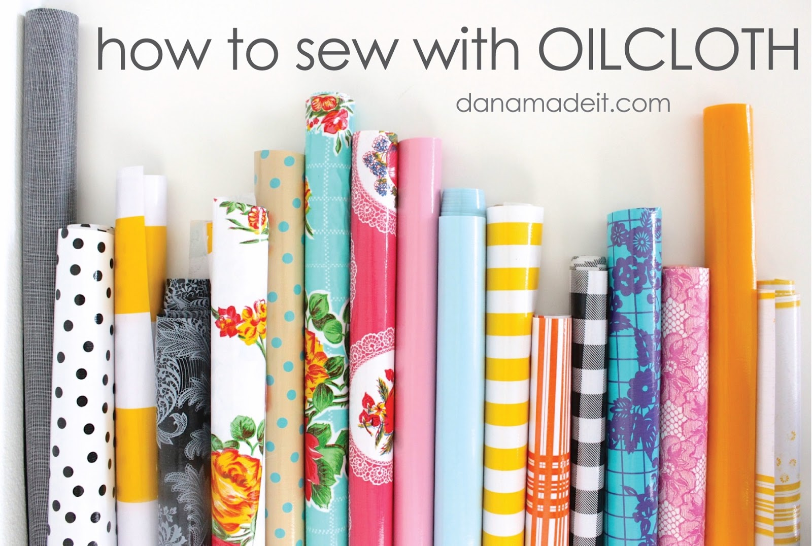 How to Sew Oilcloth