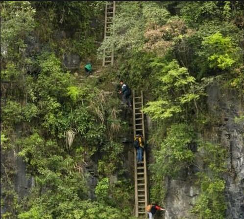 Budak 5 Tahun Terpaksa Mendaki Setiap Hari Untuk Kesekolah