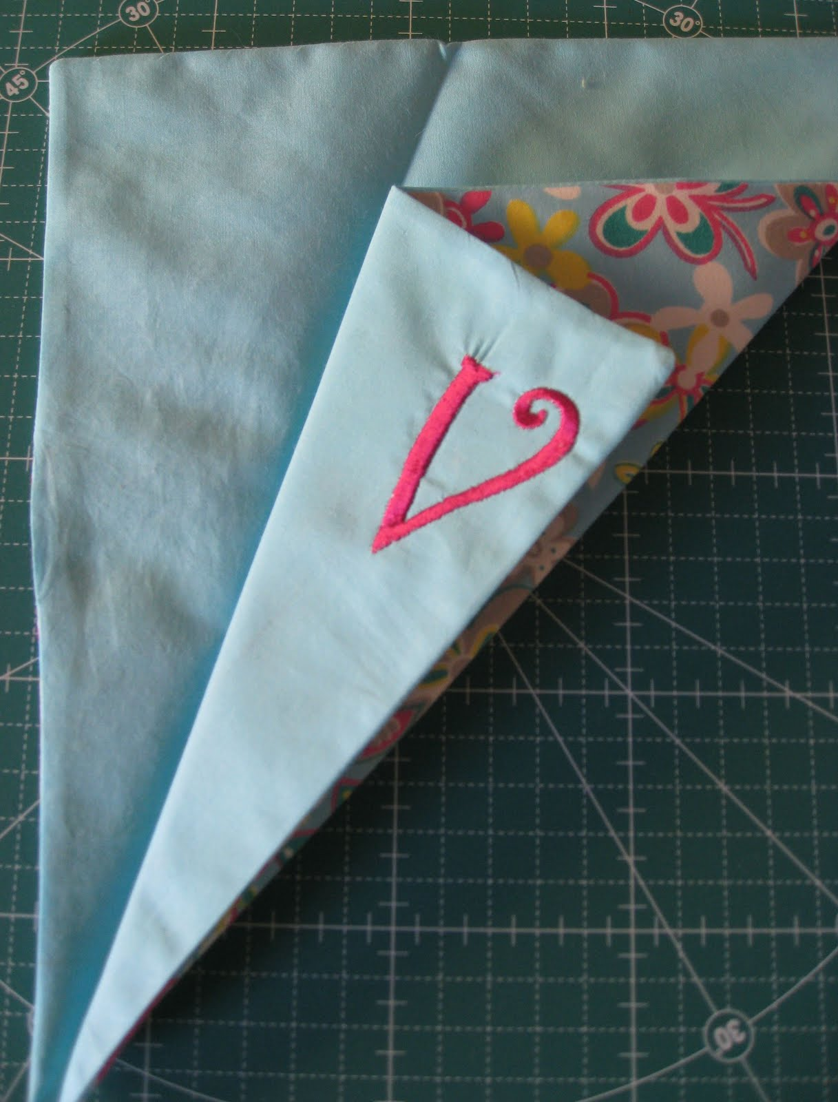 Vickis Fabric Creations Folded Fabric Scissor Holder Tutorial