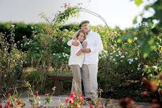 MÓNICA CAHEN D´ANVERS Y CÉSAR MESCETTI  40 años juntos mayo 2015