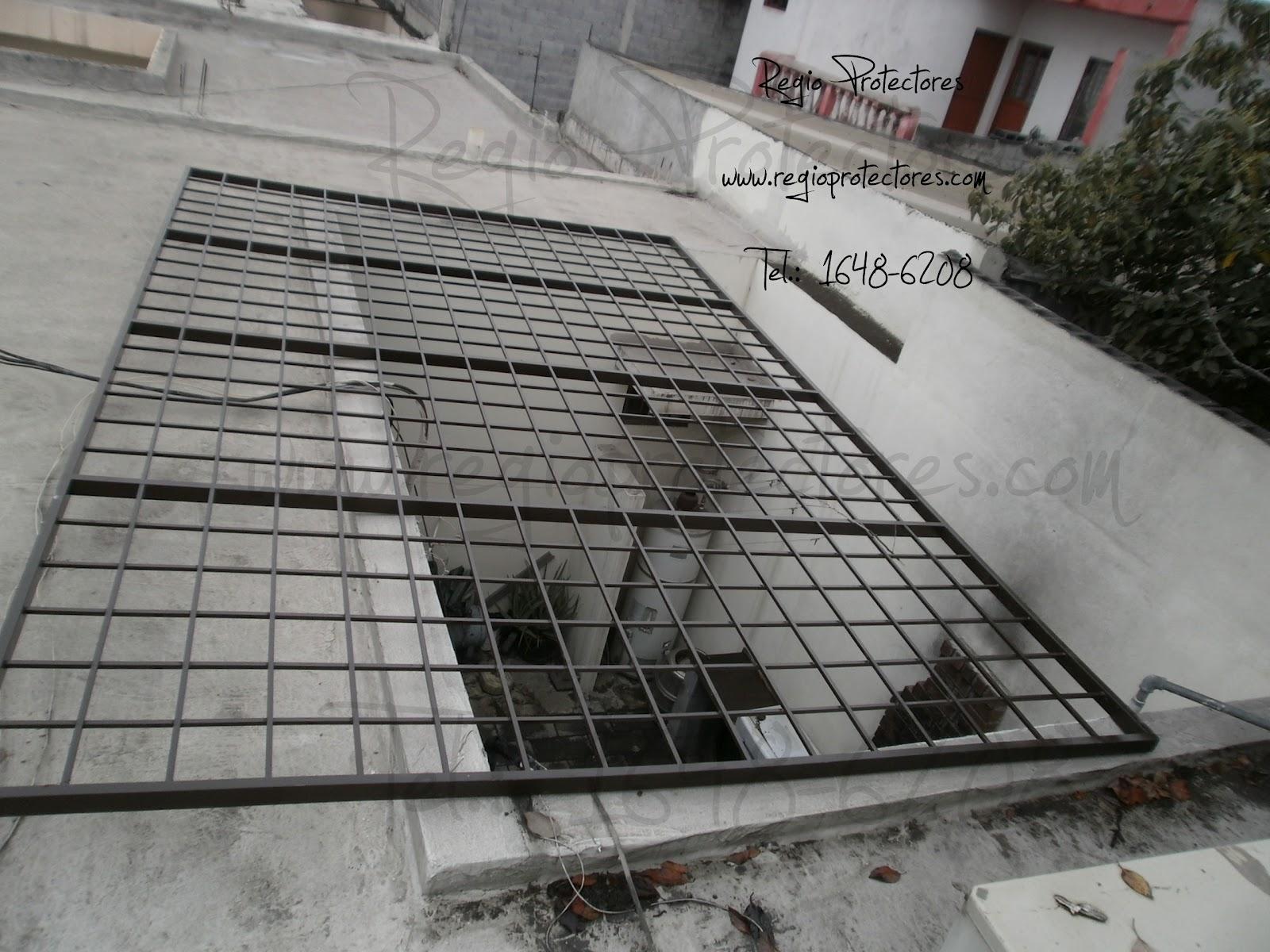Regio Protectores: Reja de seguridad para patio, Fracc. Mitras Norte