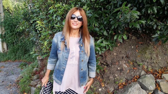 Denim Jacket, look, style, Carmen Hummer Style
