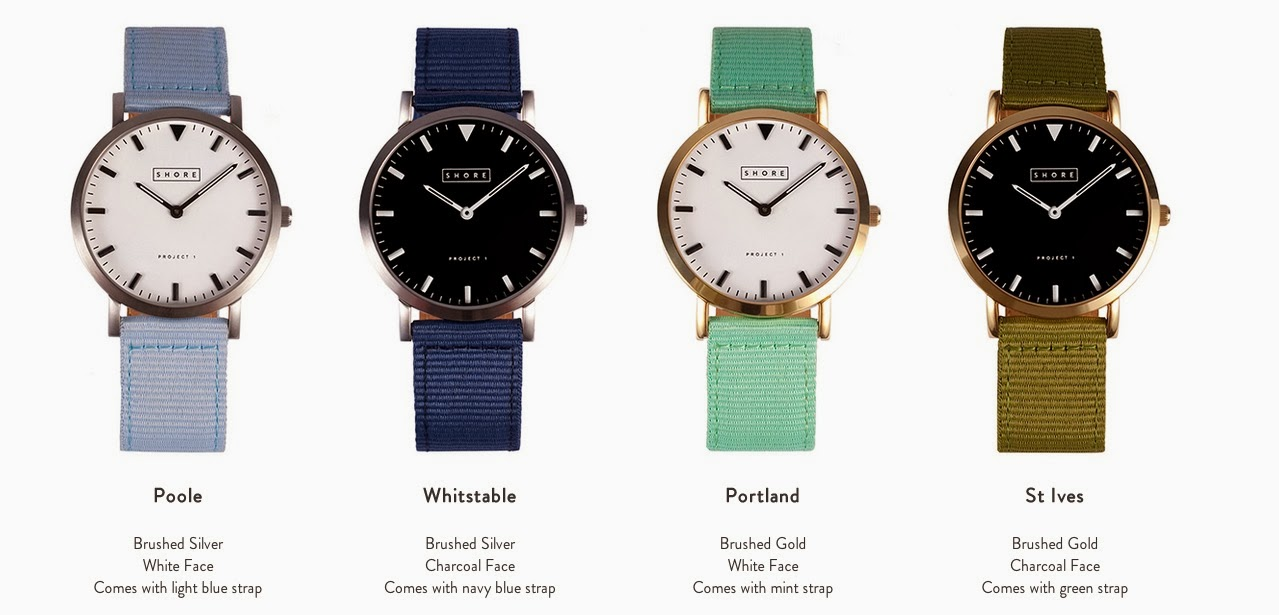 shore projects project 1 first collection seaside british summer coastal beach life lifestyle lookbook watches