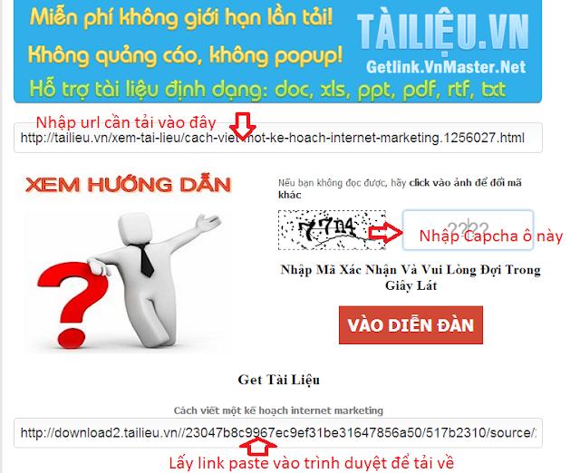 Chia sẻ cách lấy tài liệu trên trang Tailieu.vn