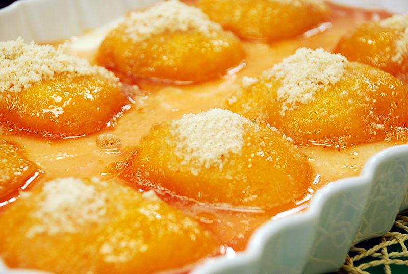 Oktay Usta Şeftalili Ramazan Tatlısı Tarifi Yeşil Elma